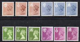 Q326 - GRAN BRETAGNA 1984, Unificato Ordinaria Regionali N. 1151/1162 ***  MNH (2380A) - 1952-.... (Elizabeth II)