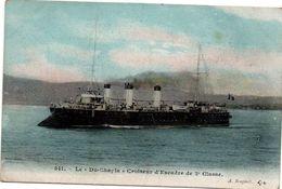 Du Chayla - Croiseur D'escadre De 2ème Classe - Bougault 541 - Guerre