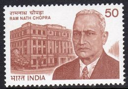 India 1983 Ram Nath Chopra Commemoration, MNH, SG 1095 (D) - Nuovi