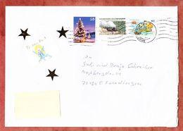 Grossbrief, Weihnachten Sk U.a., Handroll Welle Briefzentrum 72, Tuebingen Nach Ofterdingen 2013 (94682) - [7] République Fédérale