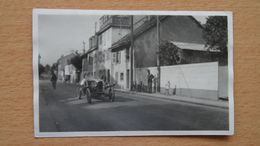 GENEVE - VERSOIX - CARTE PHOTO - VOITURE - RARE - GE Genève
