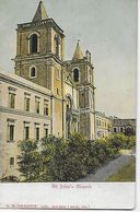 Post Card - Malta-Valletta, - View Of St. John`s Church - Malte