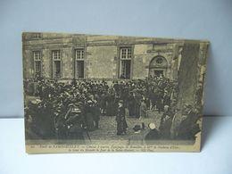 60 . FORET DE RAMBOUILLET 78 YVELINES CHASSE A COURRE EQUIPAGES DE BONELLES A MNE LA DUCHESSE D'UZES CPA 1910 - Rambouillet