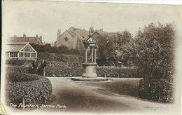 THE FOUNTAIN - JARROW PARK - JARROW - COUNTY DURHAM - PRODUCED BY LINDSAY SERIES - NEWCASTLE - Durham