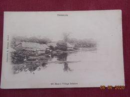 CPA - Tonkin - Hanoï - Village Lacustre - Vietnam