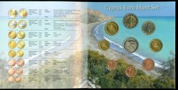 SERIE EURO DIVISIONALE IN FOLDER COFFRET CYPRUS CHYPRE  ZYPERN ΚΥΠΡΟΣ  2008 KMS FDC UNC - Chipre