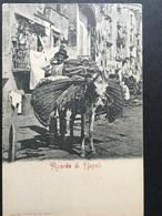 "NAPOLI...NAPLES...NEAPEL....Costume...Ricordo Di Napoli.."" ASINAJO "" ....ed. Rommler..... - Napoli"