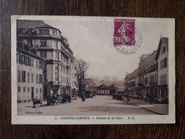 L27/1694 SARREGUEMINES - AVENUE DE LA GARE - Sarreguemines