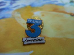 A059 -- Pin's France 3 Lorraine - Medios De Comunicación