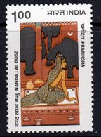 India 1983 Nanda Lal Bose Birth Centenary, MNH, SG 1109 (D) - Nuovi