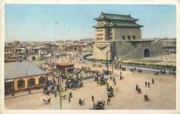 CPA Asie Chine The Chien-men Watchtower Peking Beijing Pékin Hartung's Photo Shop - Cina