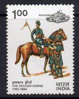 India 1984 Deccan Horse Guidon Presentation, MNH, SG 1111 (D) - Nuovi