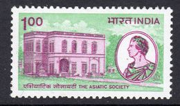 India 1984 Bicentenary Of Asiatic Society, MNH, SG 1112 (D) - Nuovi