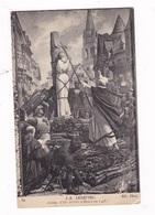 CPA Jules Lenepveu (1819-1898), Jeanne D'Arc Sur Le Bûcher Place Du Vieux Marché à Rouen (1886-1890), Panthéon De Paris. - Geschiedenis