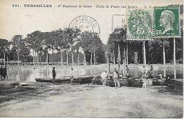 VERSAILLES - Militaria - 1er Regiment Du Genie Ecole De Ponts (au Large) Bon état - Versailles