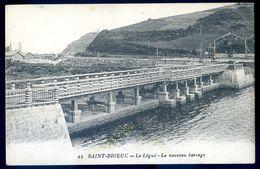 Cpa De 22  Saint Brieuc Le Légué Le Nouveau Barrage AVR20-153 - Saint-Brieuc