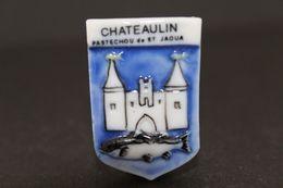 Fève De La Série ECUSSONS DU FINISTÈRE ( Blason ) - Chateaulin - Prime 1994 - (Réf. 012) - Regions