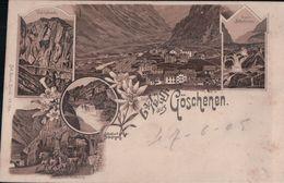 Gruss Aus Göschenen (1905) - UR Uri