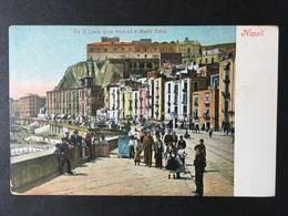 """NAPOLI...NAPLES...NEAPEL......"""" Santa Lucia Ed Il Monte Echio """" ....ed. Ragozino - Napoli"""
