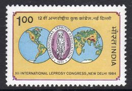 India 1984 12th International Leprosy Conference, MNH, SG 1118 (D) - Nuovi