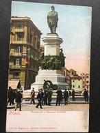 "NAPOLI...NAPLES...NEAPEL......"" Monumento A Giuseppe Garibaldi "" ....ed. Ragozino - Napoli"