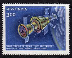 India 1984 Indo-Soviet Manned Space Flight, MNH, SG 1125 (D) - Nuovi