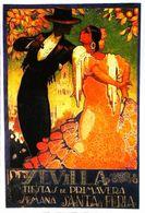 """SEVILLA 1928 - Edition Sevilliama - CARTE POSTALE MODERNE (Reproduction D'affiche Ancien D'après """"Juan Parrilla Dapena"""" - Posters"""