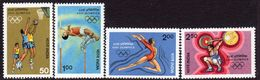 India 1984 Olympic Games Set Of 4, MNH, SG 1127/30 (D) - Nuovi