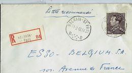 Doc. De WALHAIN - ST PAUL - B B - Du 11/02/66 - En Rec. - Marcophilie