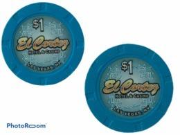 JETON / TOKEN LAS VEGAS 1$ CASINO EL CORTEZ - Casino