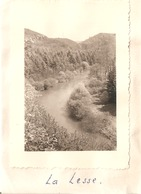Foto Photo ( 7 X 9,5 Cm) La Lesse 1951 - Postcards
