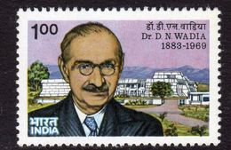 India 1984 Dr D.N. Wadia Birth Centenary, MNH, SG 1136 (D) - Nuovi