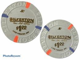 JETON / TOKEN LAS VEGAS 1$ CASINO SILVERTON - Casino