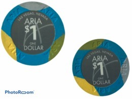 JETON / TOKEN LAS VEGAS 1$ CASINO ARIA - Casino