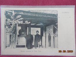 CPA - Tonkin - Bonze Sonnant Le Tam Tam - Vietnam