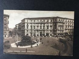 "NAPOLI...NAPLES...NEAPEL......"" Piazza Vanvitelli "" .Vomero...ed. Carcavallo - Napoli"