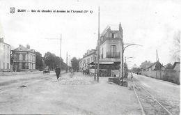21 - DIJON - Rue De Chenôve Et Avenue De L'Arsenal ( Actuel Jean Jaurès ) Bar Animé - Dijon