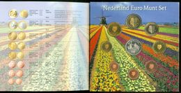 SERIE EURO DIVISIONALE IN FOLDER COFFRET NEDERLAND * THE NETHERLANDS * NIEDERLANDE * LES PAYS-BAS * 2005 KMS FDC UNC - Pays-Bas