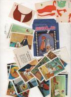 POCHETTE + 38 IMAGES LE MONDE PRODIGIEUX DES LES ARISTOCHATS - 1971 WALT DISNEY PRODUCTIONS / ARTS GRAPHIQUES EDUCATIFS - Trade Cards