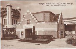 F0244 PARIS - EXPOSITION INTERNATIONALE DES ARTS DÉCORATIFS 1925 - PAVILLONS ROUBAIX TOURCOING - Mostre
