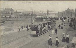 LE TREPORT, LA QUAI FRANCOIS 1er, TRAM, TRAMWAYS, 1916 - Autres Communes