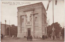 F0246 PARIS - EXPOSITION INTERNATIONALE DES ARTS DÉCORATIFS 1925 - PAVILLON DE L'ITALIE - Mostre
