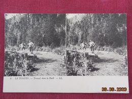 CPA - Carte Stéréotype - Le Tonkin - Travail Dans La Forêt - Vietnam