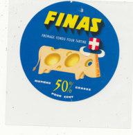 Y 302 / ETIQUETTE DE FROMAGE  - FINAS FROMAGE FONDU - Käse