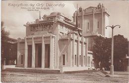 F0248 PARIS - EXPOSITION INTERNATIONALE DES ARTS DÉCORATIFS 1925 - PAVILLON DE BELGIQUE - Mostre
