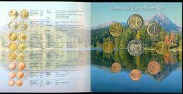 SERIE EURO DIVISIONALE IN FOLDER COFFRET SLOWAKIJE * SLOVAQUIE * SLOWAKEI * SLOVAKIA * 2009 KMS FDC UNC - Slovaquie