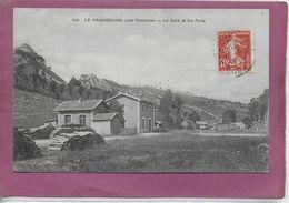 25. -   LE FRAMBOURG Près PONTARLIER  La Gare Et Les Forts - Pontarlier