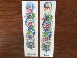Marque Page Fleurs Fées X2 - Bookmarks