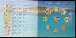 SERIE EURO DIVISIONALE IN FOLDER COFFRET * MALTA * MALTE *  2008 KMS FDC UNC - Malta
