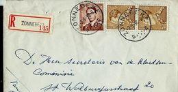 Doc. De ZONNEBEKE - A A - Du 03/05/58 - En Rec. - Marcophilie